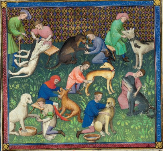 Gaston Phoebus_Le Livre de la chasse_MS M. 1044_fol.31v_1407 circa (Morgan Library, NY)